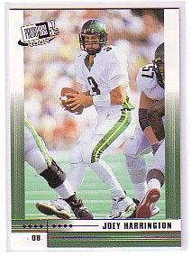 2002 Press Pass JE #3 Joey Harrington