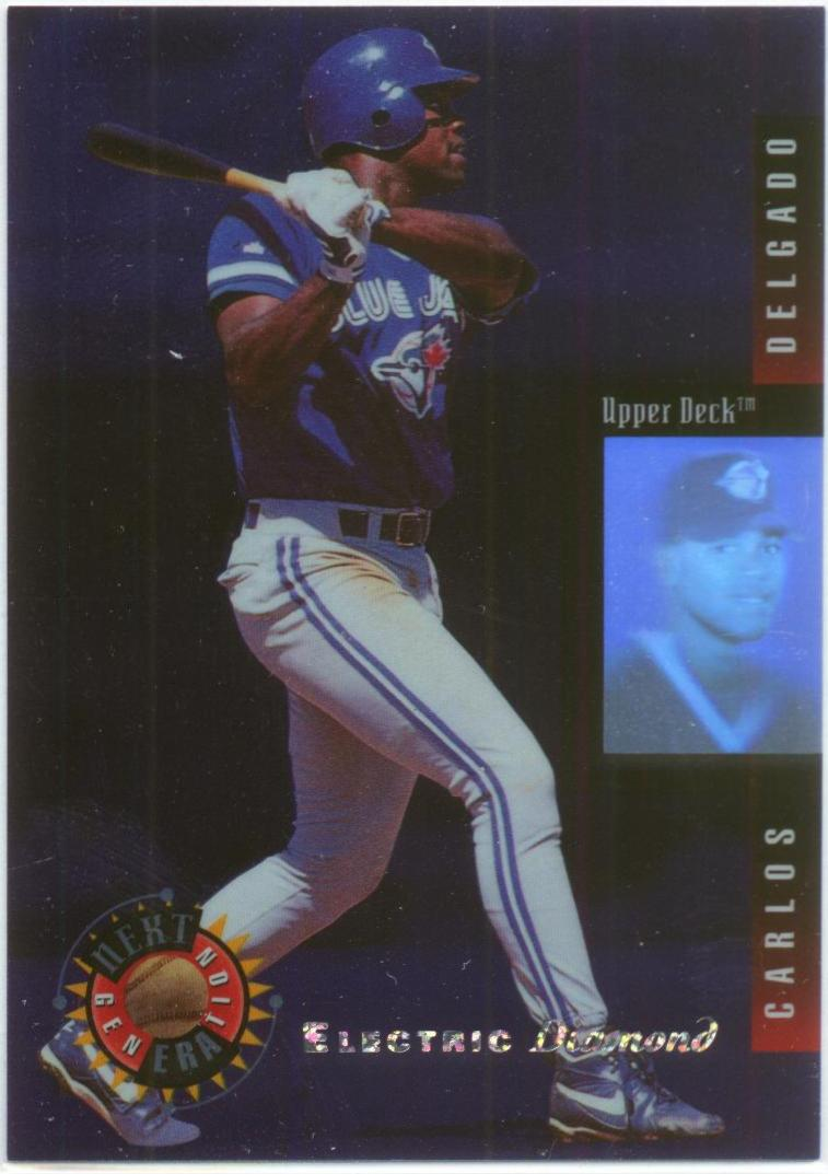 1994 Upper Deck Next Generation Electric Diamond #2 Carlos Delgado