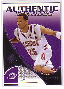 2003-04 SP Game Used #148 Maurice Williams RC
