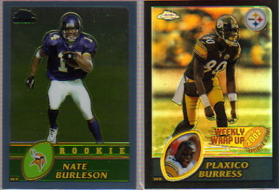 2003 Topps Chrome #218 Nate Burleson RC