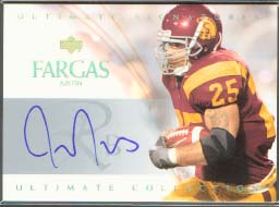 2003 Ultimate Collection Ultimate Signatures #USJF Justin Fargas