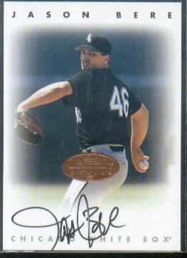 1996 Leaf Signature Autographs #23 Jason Bere