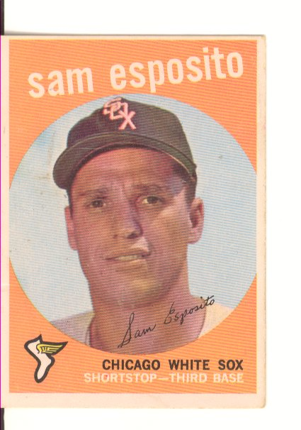 1959 Topps #438 Sammy Esposito