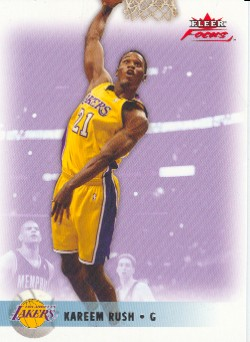 2003-04 Fleer Focus Numbers Decade #110 Kareem Rush