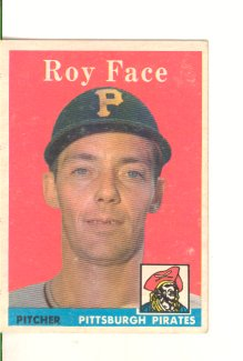 1958 Topps #74 Roy Face front image