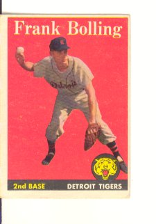 1958 Topps #95 Frank Bolling