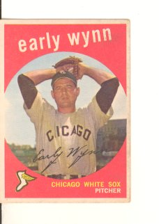1959 Topps #260 Early Wynn UER/1957 Cleevland