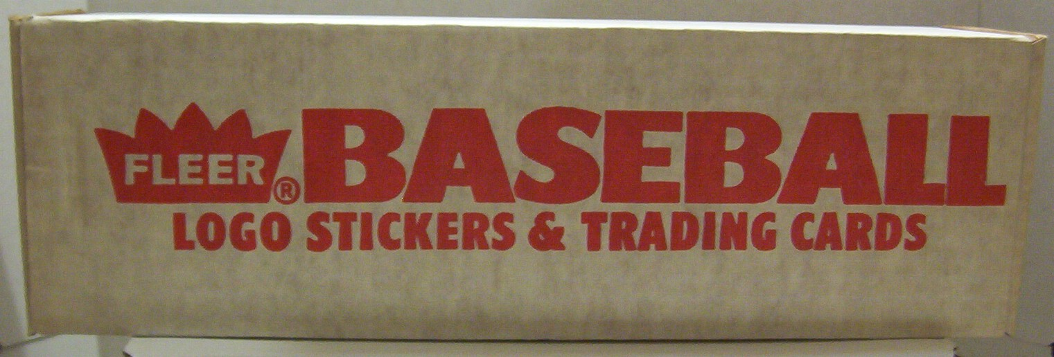 1989 Fleer MLB Baseball Factory Set