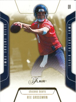 2003 Flair #113 Rex Grossman RC