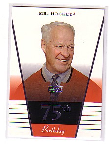 2002-03 Upper Deck Rookie Update #75 Gordie Howe