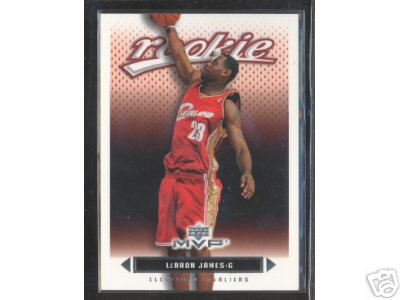 2003-04 Upper Deck MVP Cleveland Cavaliers Team Set (featuring Lebron James Rookie)