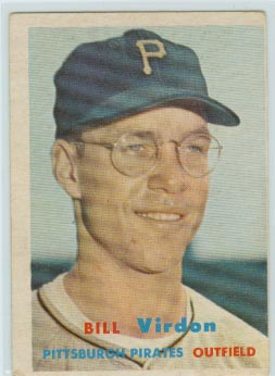 1957 Topps #110 Bill Virdon