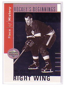 2002-03 UD Piece of History Hockey Beginnings #HB4 Gordie Howe