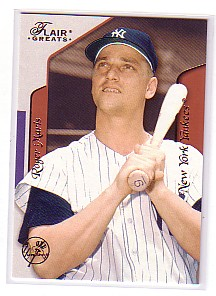 2003 Flair Greats #122 Roger Maris HT