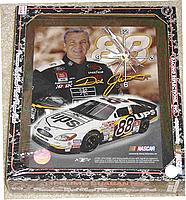 GREAT GIFT IDEA! Dale Jarrett NASCAR wall clock