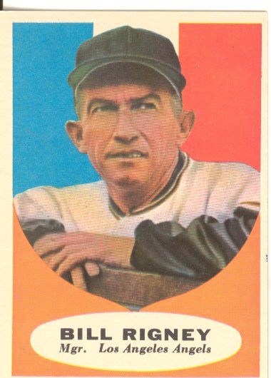 1961 Topps #225 Bill Rigney MG
