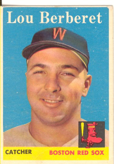 1958 Topps #383 Lou Berberet