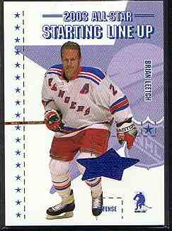 2003-04 BAP Memorabilia All-Star Staring Lineup #2 Brian Leetch