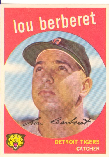 1959 Topps #96 Lou Berberet