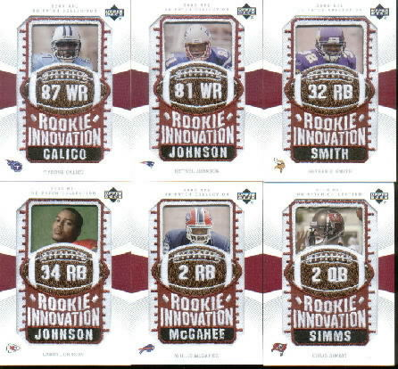 2003 UD Patch Collection #137 Willis McGahee RI RC