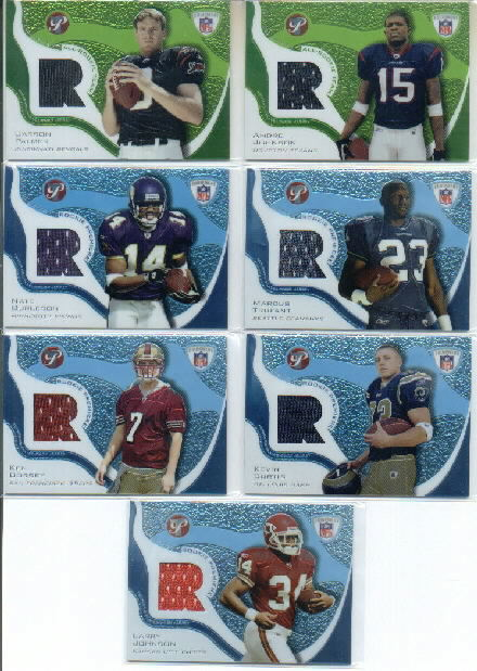 2003 Topps Pristine All-Rookie Team Jerseys #ARTCP Carson Palmer C