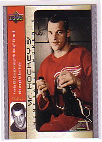 2003-04 Upper Deck Mr. Hockey #GH5 Gordie Howe
