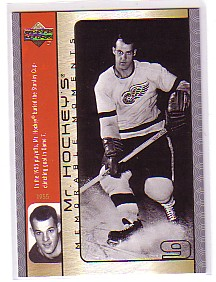 2003-04 Upper Deck Mr. Hockey #GH7 Gordie Howe