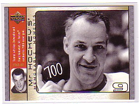 2003-04 Upper Deck Mr. Hockey #GH12 Gordie Howe