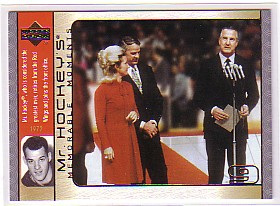 2003-04 Upper Deck Mr. Hockey #GH13 Gordie Howe