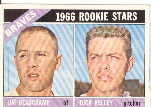 1966 Topps #84 Rookie Stars/Jim Beauchamp/Dick Kelley