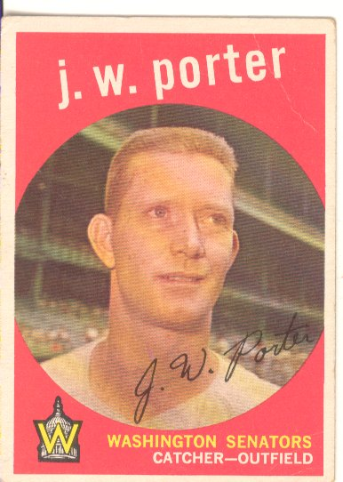 1959 Topps #246 J.W. Porter