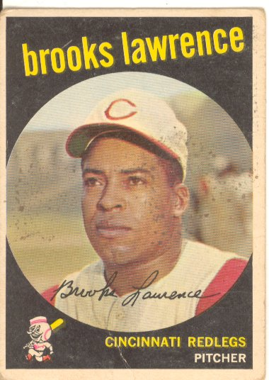 1959 Topps #67 Brooks Lawrence