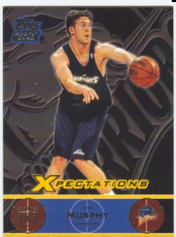 2001-02 Topps Xpectations #114 Troy Murphy/250 RC
