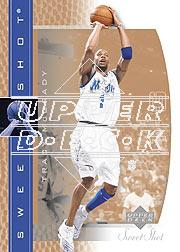 2003-04 Sweet Shot #59 Tracy McGrady