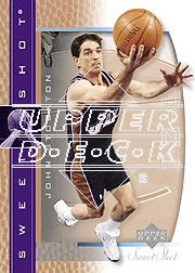 2003-04 Sweet Shot #86 John Stockton