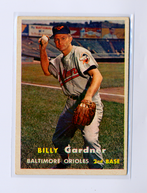 1957 Topps #17 Billy Gardner
