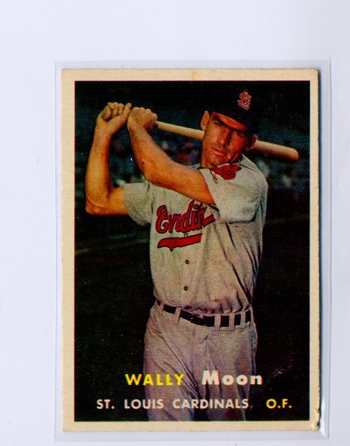 1957 Topps #65 Wally Moon