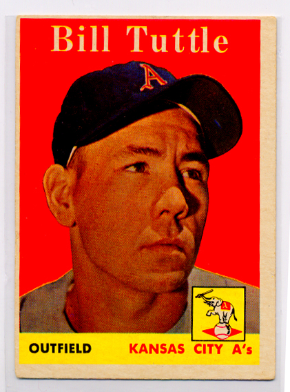 1958 Topps #23A Bill Tuttle