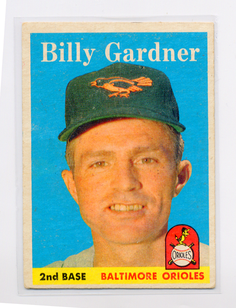 1958 Topps #105 Billy Gardner