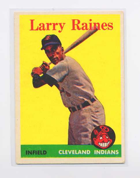 1958 Topps #243 Larry Raines RC
