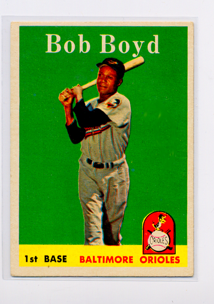 1958 Topps #279 Bob Boyd