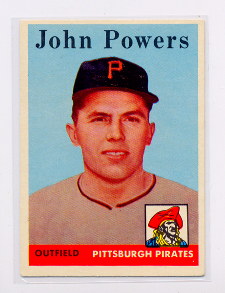 1958 Topps #432 John Powers RC