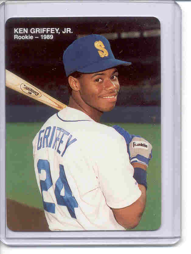 1989 Mother's Griffey Jr. #4 Ken Griffey Jr./(Looking over/shoulder with bat)