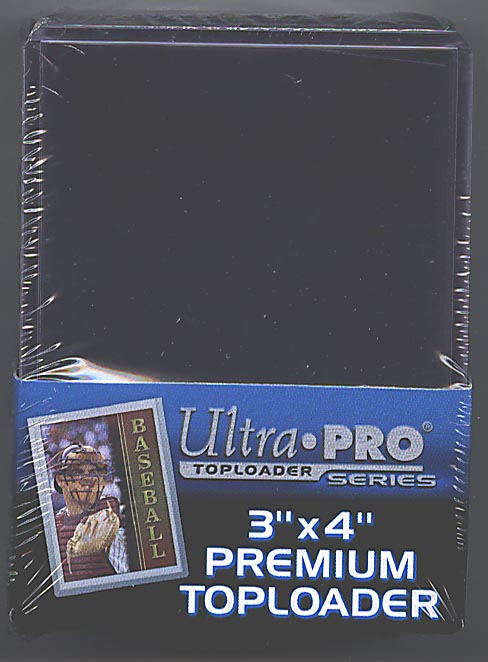 Ultra-Pro #81145 3x4 Top Loaders 25 ct.