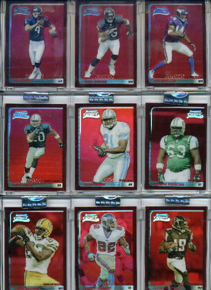 2003 Bowman Chrome Red Refractors #198 LaTarence Dunbar
