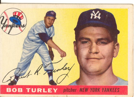 1955 Topps #38 Bob Turley