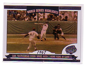 2004 Topps World Series Highlights #CY Carl Yastrzemski 1