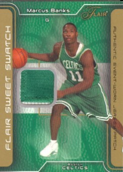2003-04 Flair Sweet Swatch Patches #MB Marcus Banks