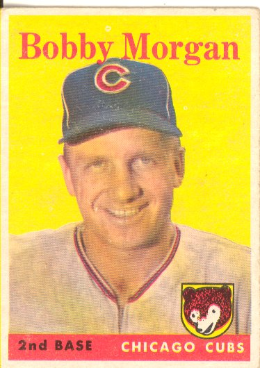 1958 Topps #144 Bobby Morgan