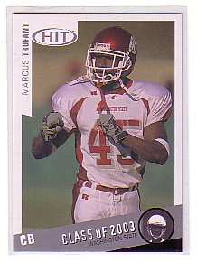 2003 SAGE HIT Class of 2003 Silver #C45 Marcus Trufant